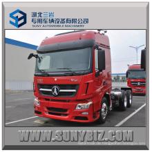 380HP Neues Modell Beiben V3 6X4 Traktor Anhänger LKW