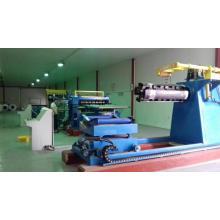 Máquina de corte de bobina com revestimento colorido