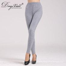 женщины 100% кашемир длина по щиколотку супер теплые брюки женские брюки трикотажные брюки