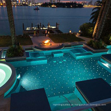 Iluminação Fiberstar para piscina