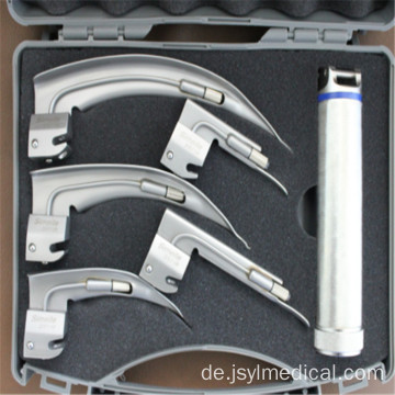 Medical Bulb Laryngoscope Set