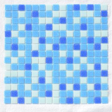 Vidrio Mosaik Azul Mosaique De Verre Mosaico Azulejo