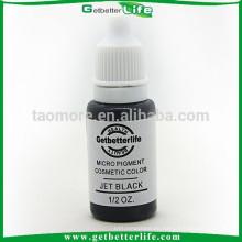 getbetterlife 2015 venta caliente 23 colores 1/2 OZ ceja tinta, tinta de maquillaje permanente de cejas, maquillaje permanente de tinta pigmento
