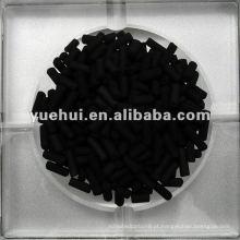 3,0 mm Carvão ativado impregnado com álcali à base de carvão