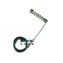 Calentador de tubo de dos extremos Mini elemento de calentamiento de resorte modificado para requisitos particulares