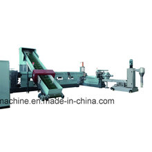 Plastic Recycling Pelletizing Machine with High Effectively Exhausting and Filler