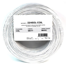 1000FT 22 Gauge 4 Conductor Solid Security Alarm Wire Cable