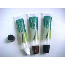 PE Plastic Packaging, Flexible Tube, Lip Gloss Tube with Label