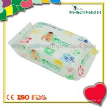 Nettoyant quotidien pour bébé Nettoyant humide Tissu