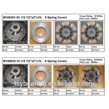 "American Mack Truck Parts 15 1/2 ""Kit de embrague de hierro fundido M108391-93"