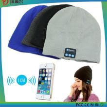 Tampão esperto sem fio quente do chapéu de Bluetooth do Beanie com o orador do auricular do auscultadores