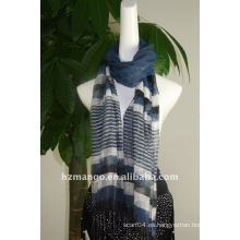 2016 últimas bufandas del resorte del seda / del visocse de la manera