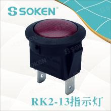 Soken-Schalter Miniatur-Rund-Signal-Kontrollleuchte