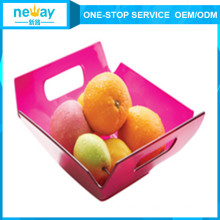 Neway-quadratische Form-Plastikfrucht-Platte