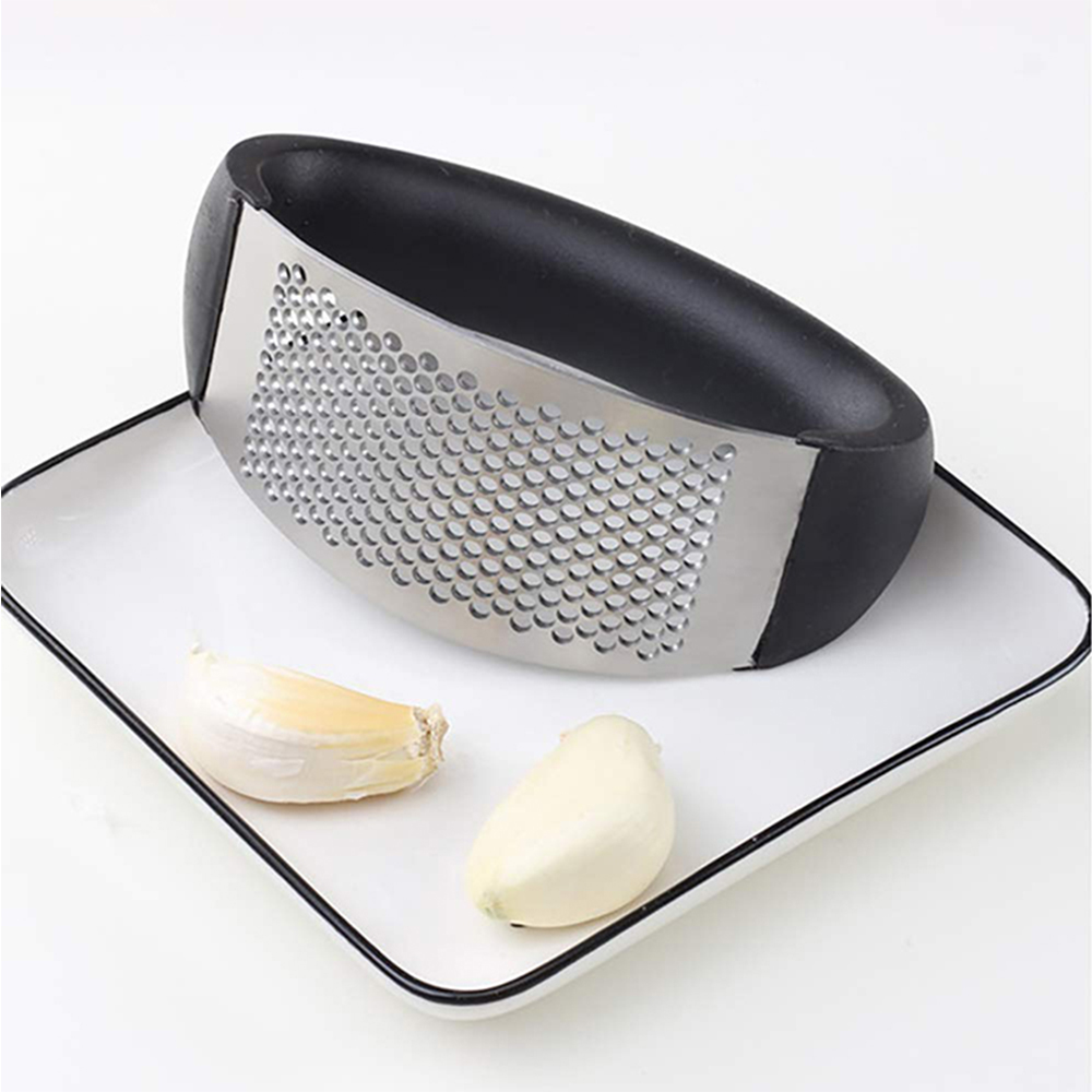 Food Grade Stainless Steel Garlic Press Rocker
