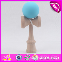 Promotional Gift Wooden Kendama Toy for Kids, Wooden Toy Kendama for Wholesale, Wooden Kendama Toy with 16*6.8*5.5 Cm W01A044