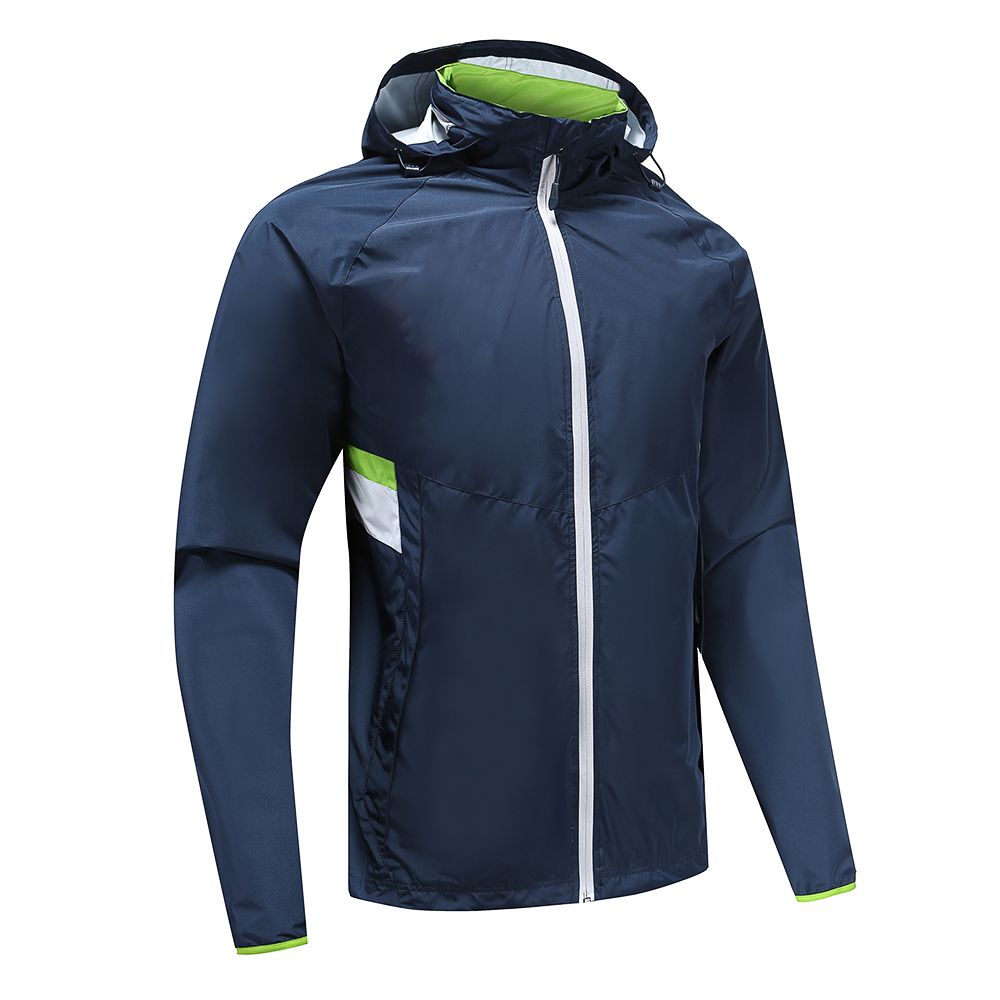 Mens Rugby Wear Zip Up Hoodies