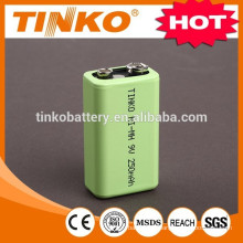 NI-MH rechargeable battery size 9v