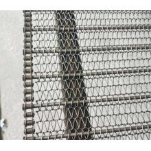 Correia de malha de corrente de aço inoxidável 304 de grau alimentício