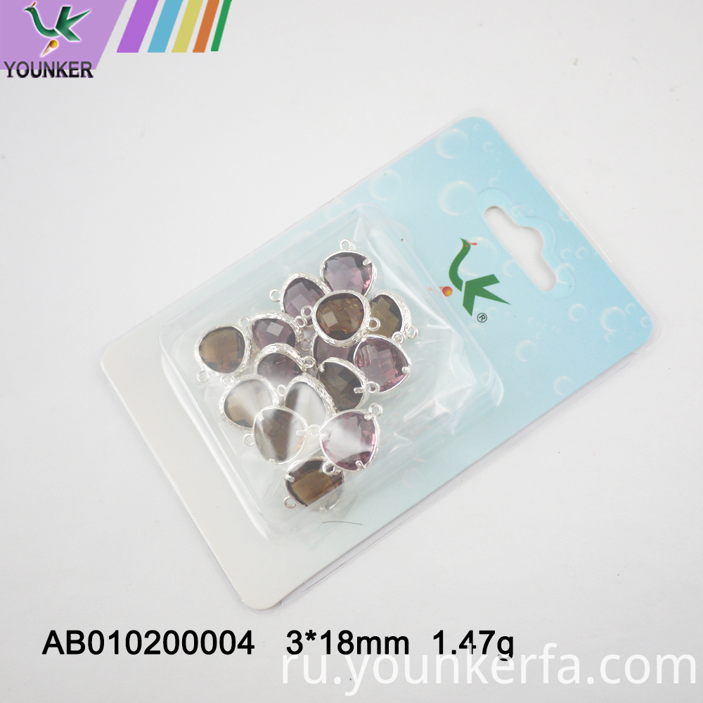 Wholesale Jewelry Glass Charms For Jewelry Making