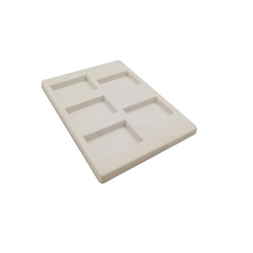 Costom White Velvet Flocking Blister Tray Pack