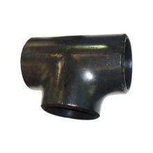 Té noir de tuyau de soudure bout à bout pour le tuyau de structure