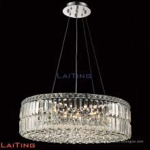 Moderne pendante lustre en cristal lustre pendentif pour plafond incliné 71042