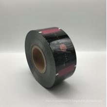 Film en plastique de larme facile imprimé par coutume de papier d'aluminium