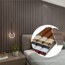 YUJIE factory pvc wood wall panel 150x26mm decorating panels pvc wall cladding