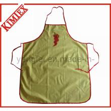 Cozinha de algodão 100% Cozinha Avental barato com gravatas