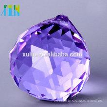 30mm facettierte hängende Kristallkugeln mit Loch für Leuchter