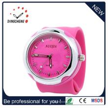2015 Pink Fshion, reloj de pulsera de silicona de alta calidad (DC-931)