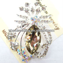 2013 Hot Sale Crystal Animal Design Big Broches BR12