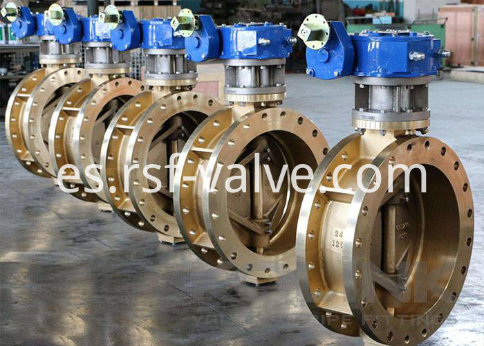 Triple Offset Butterfly Valve Flange 1