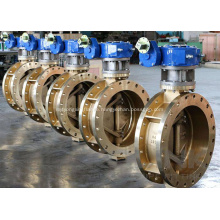 Flange Ends Triple Offset Butterfly Valve