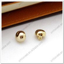 Real gold regular dome rivets