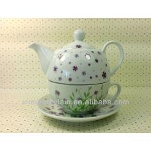 Conjunto popular de chá de porcelana, conjunto de chá de cerâmica