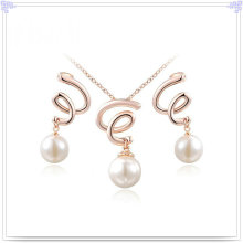 Pearl Jewelry Fashion Accessories Alloy Jewelry Set (AJS174)