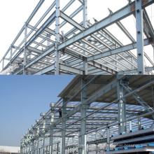 Edificio de estructura de acero preingeniería