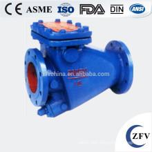 tiny drag cast iron flow control check valve