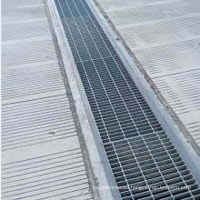 High Quality Heavy Duty Steel Grating Channel Trench Drain Cover for Parking Lot