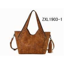 Ladies Hobo bolso de fábrica Precio OEM bolso de hombro Bolso especial de la PU de las mujeres (ZXL1903-1)
