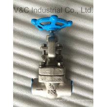 Válvula de globo de aço inoxidável flangeada ANSI para líquidos e gás