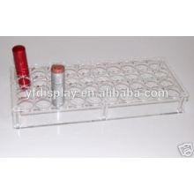 Clear Acrylic Lipstick Organizer