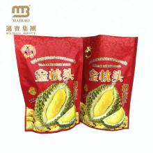 Compound material reach food standard stand up plastic zipper bag