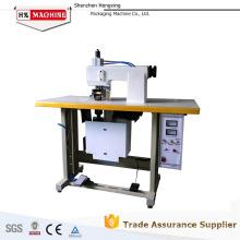 Máquina de coser ultrasónica del cordón del bolso no tejido 01 HX-2012RFS para la industria de la ropa