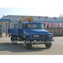 Factory Price Dongfeng 140 boom truck cranes sale, 4x2 Crane Truck