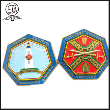 Hexagon Atlantic region challenge unit coin