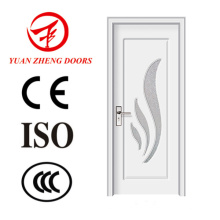 Neues Design Holz Farbe PVC Tür Innen Eingang Tür