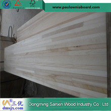 Natural Poplar Finger Joint Board for Snow Woodcore